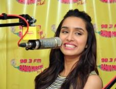 Shradha Kapoor At Radio Mirchi Studio Photos