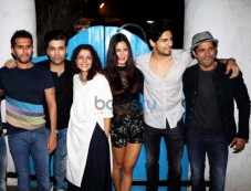Sidharth, Katrina And Karan At Baar Baar Dekho Wrap Up Bash Photos