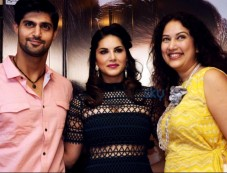 Sunny Leone At Promotion Of Moive One Night Stand Photos