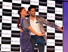 Sidharth Malhotra & Jacqueline Fernandez At The Launch Of New Smartphone LeEco Photos