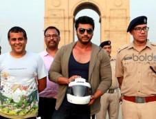 Arjun Kapoor And Chetan Bhagat At A Road Safety Awareness Campaign Photos