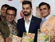Virat Kohli At Launch Of Cookbook Comfort Food Photos