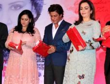 Nita Ambani And Shahrukh Khan Launch Gunjan Jain's Book Photos