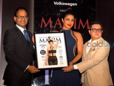 Priyanka Chopra On The Cover Of Maxim India Magazine Photos