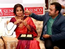 Vidya Balan At Inaugration Of SENCO Store Photos
