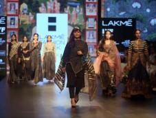 Divya Sheth Show At Lakme Fashion Week Winter Festive 2016 Photos