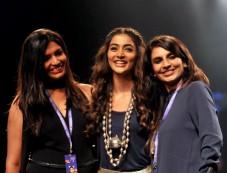 Pooja Hegde Walks For Jade At Lakme Fashion Week 2016 Photos