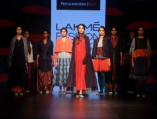 Priyadarshani Rao Show At Lakme Fashion Week Winter Festive 2016 Photos