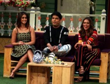 Promotion Of The Film Rustom On The Sets Of The Kapil Sharma Show Photos