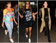 Airport Style: Catch The Latest Travel Looks Of Bollywood Stars Photos