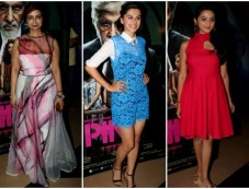 Catch The Wardrobe Of Stars At The Screening Of Pink Photos