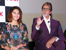 Check Out Big B's Purple Look At The Screening Of Pink Photos