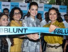 Dia Mirza Unveils 9th BBLUNT Salon In Mumbai Photos