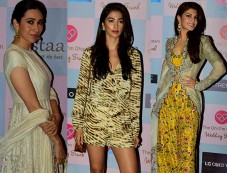 Jacqueline Fernandez, Karisma Kapoor, Pooja Hegde Grace The Dhoom Dhaam Wedding Trunk Exhibition Photos