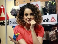 Kangana Ranaut At Launch Of Reebok Store In Chandigarh Photos