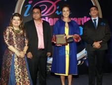 Neha Dhupia Attended At Diva Salon Awards Photos