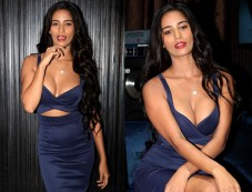 Poonam Pandey Dazzle In Cocktail Dress At The Press Conference Photos