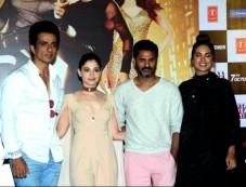 Prabhu Deva, Sonu Sood, Tamannaah And Esha Gupta At Tutak Tutak Tutiya Launch Photos