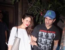 Saif Ali Khan With Wife Kareena Spotted At Bandra Photos