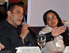 Salman Khan At Being Human Jewellery Launch Photos