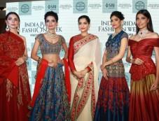Sonam Kapoor At Launch Of India Bridal Fashion Week First Wedding Store Photos