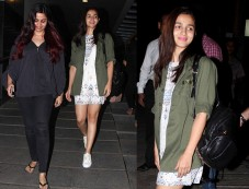 Alia Bhatt Pulls Off A Cute Casual Look With Her Mom Photos