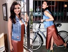 Alia Bhatt Sports A Slip Dress Like It's No Big Deal Photos