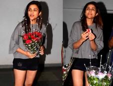 Birthday Girl Parineeti Chopra Looking Cool In Casuals Photos
