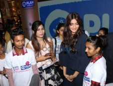 Bollywood Actress Sonam Kapoor Graces Plan International Girl Child Event Photos