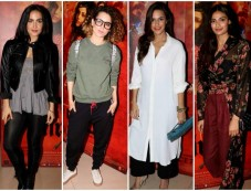 Celebs Grace The Special Screening Of Mirzya At NSCI Photos
