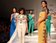 Designer Ankita Presented SAAJ At AIFW Spring Summer 2017 Photos