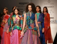 Designer Krishna Mehta Collection At AIFW 2016 Photos