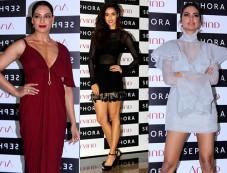 Disha, Esha And Bipasha Basu Attend Sephora Store Launch Photos