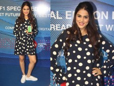 Genelia DSouza Launches Reliance Jio Special Edition Lyf F1 Smartphone Photos