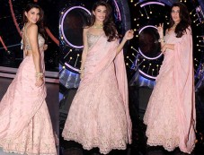 Jacqueline Fernandez Traditional Look For Grand Finale Of Jhalak Dikh La Jaa 9 Photos