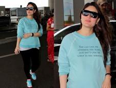 Kareena Kapoor Flaunts Her Baby Bump In Casuals Photos
