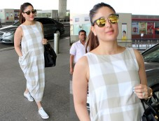 Mommy-to-be Kareena Kapoor's Latest Airport Look Photos