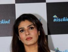 Raveena Tandon Launch New App Nischint At Thai Villa Mumbai Photos