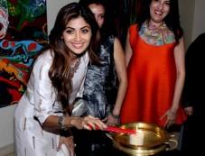 Shilpa Shetty Inaugrate Anu Malhotra Show Flow Dreams Photos