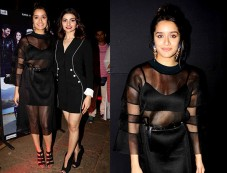 Shraddha Kapoor Wearing CORD Outfit For Rock On 2 Trailer Launch Photos