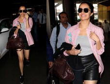 Shraddha Kapoor Nails The Chic Look At The Airport Photos