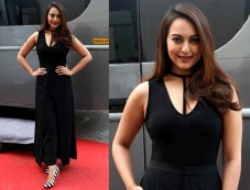 Sonakshi Sinha Nails The Sexy Black Look During Force 2 Promotions Photos