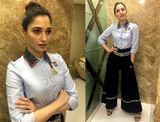 Tamannah Bhatia In Tommy Hilfiger Outfit Photos