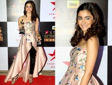 Alia Bhatt Looking Fresh As Ever On The Red Carpet Of The Star Screen Awards Photos