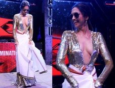 Deepika Padukone In Naeem Khan Gown For XXX INDIA Premiere Photos