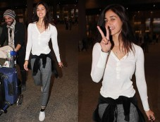 Disha Patani Latest Airport Look Photos