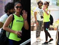 Ileana D'Cruz Snapped Post A Workout Session In Bandra Photos