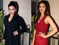 Raveena Tandon And Kriti Sanon Looks Stylish At Manish Malhotra's Bash Photos