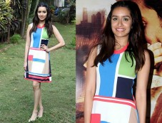 Shraddha Picked A Dsquared2 Dress For OK Jaanu Promotions Photos