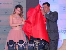 Kangna Ranaut At Nakshatra Jewellery Brand Launch Photos